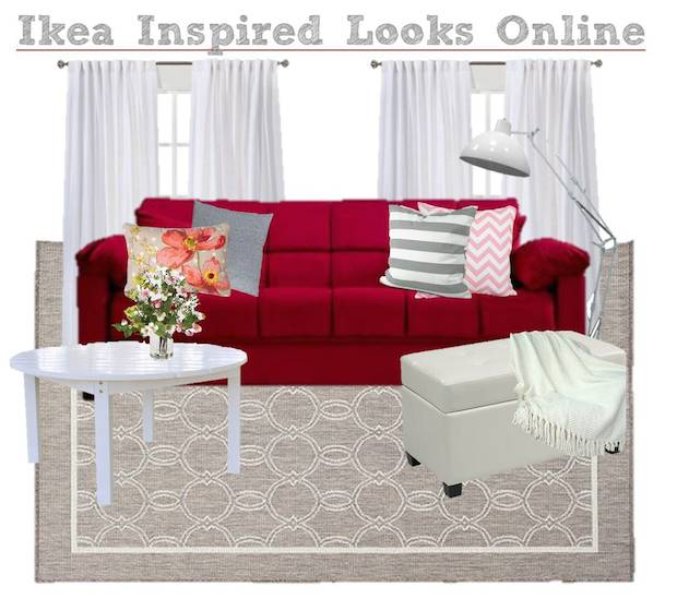 Serenity Now Ikea Shopping Trip And Home Decor Ideas: Ikea Inspired Living Room