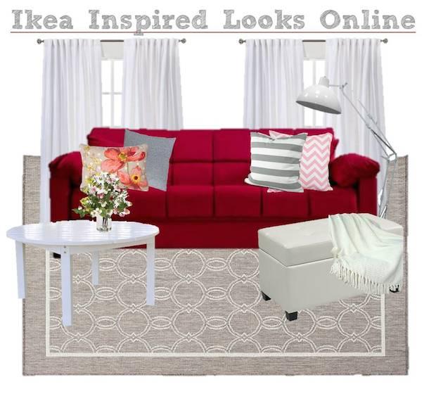 Ikea Inspired Living Room Moodboard