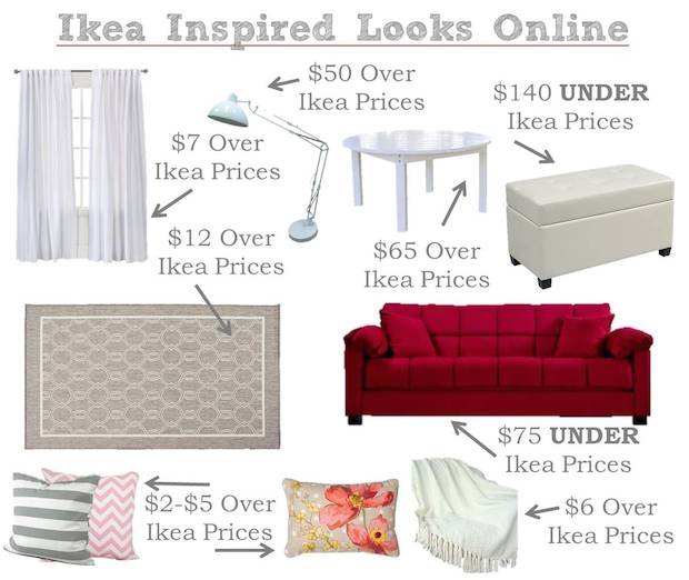 Ikea Inspired Living Room Prices