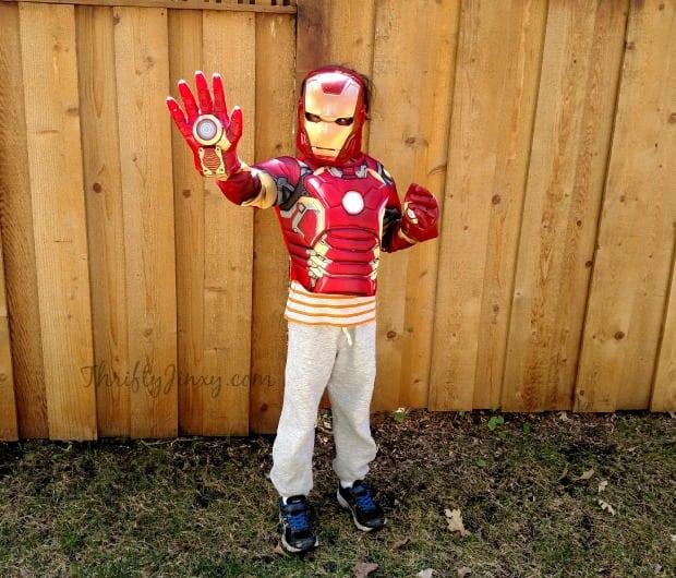 Iron Man Costume Walmart