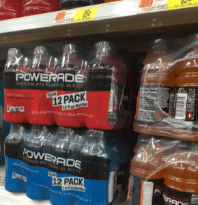 $1 Off Fresh Produce Coupon on POWERADE Packages at Walmart