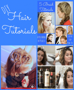 Look Beautiful for Less with TRESemmé at Walmart + DIY Hair Tutorials