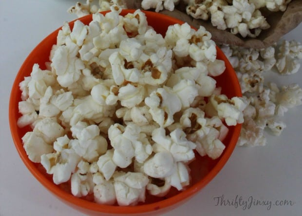 DIY Microwave Popcorn in a Bag