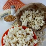 DIY Microwave Popcorn with a Brown Lunch Bag