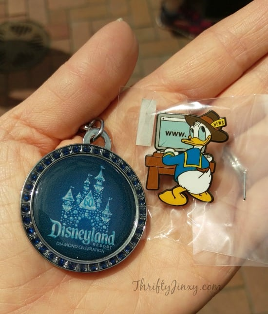 Disneyland Diamond Celebration Keychain