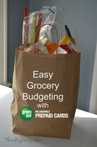 Easy Grocery Budgeting with Green Dot® Reloadable Prepaid Visa® Cards