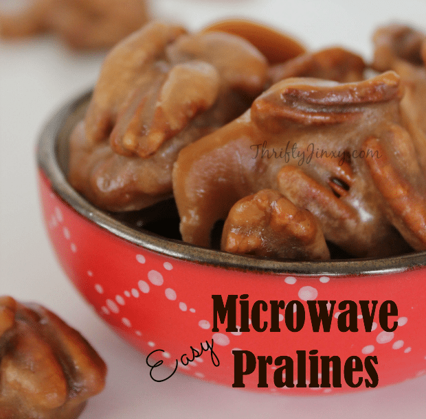 Easy microwave pralines recipe thrifty jinxy easy microwave pralines recipe forumfinder Gallery