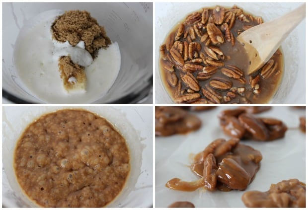 Easy Microwave Pralines Recipe Process