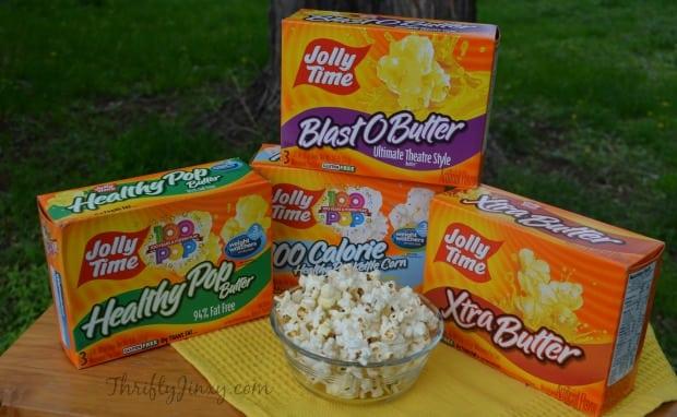 Jolly Time Popcorn Varieties