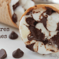 S'Mores Cones Recipe for Campfire, BBQ Grill or Oven