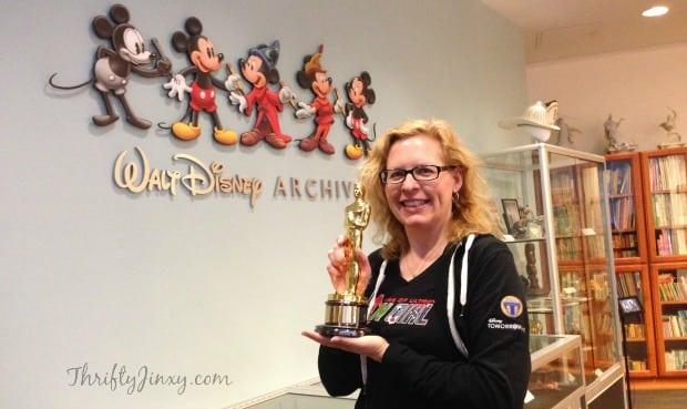 Walt Disney Archives Oscar