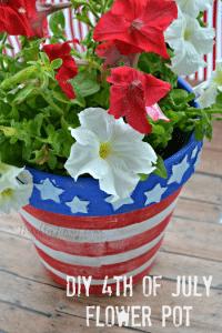 Easy DIY 4th of July Planter