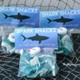 DIY Shark Snacks with Free Printable Labels – Perfect for Shark Week!