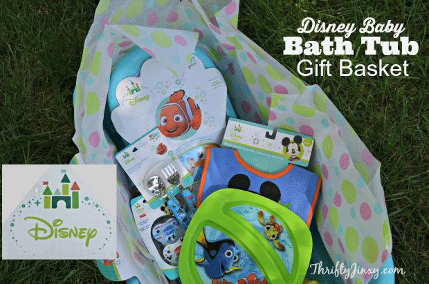 da8162f68 Create a Disney Baby Bath Tub Gift Basket - Perfect Baby Shower Gift ...