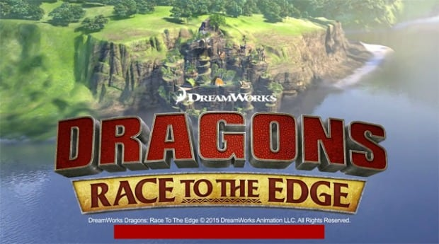 Creating Dragon's Edge with David Jones #DreamWorksDragons