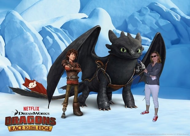 Behind the Scenes – The Making of Dragons: Race to the Edge