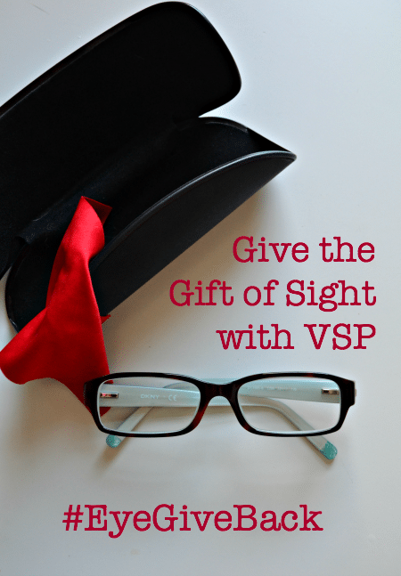 Give the Gift of Sight with VSP Direct #EyeGiveBack