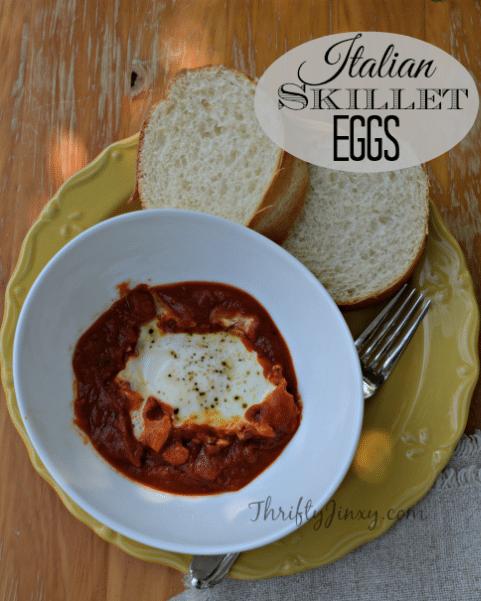 Italian Skillet Eggs Recipe