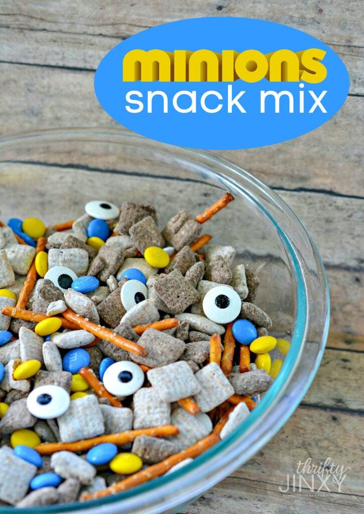 Minions Snack Mix