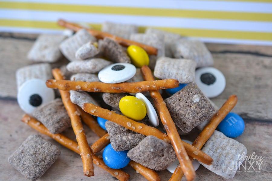 Minions Snack Mix Close Up