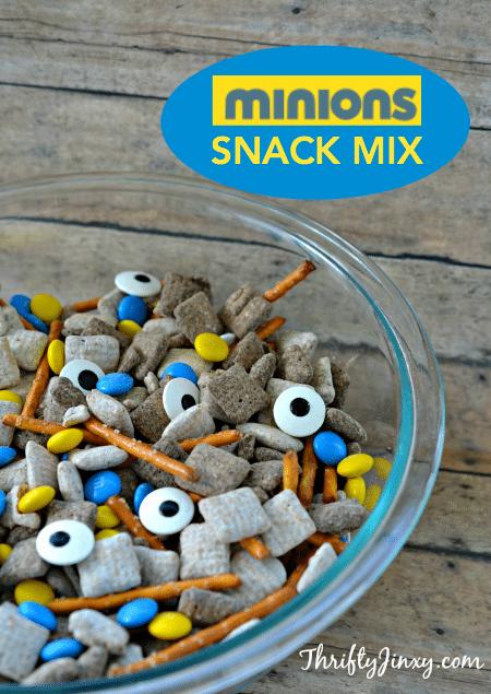 Minions Snack Mix Recipe
