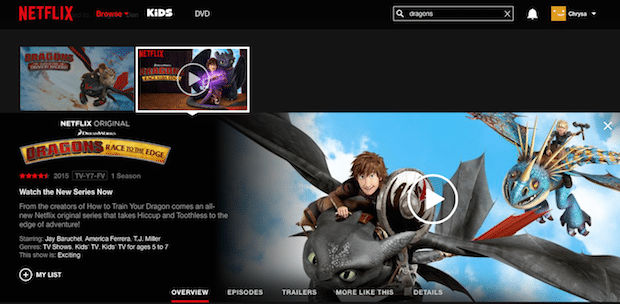 Dragons: Race to the Edge DreamWorks Netflix