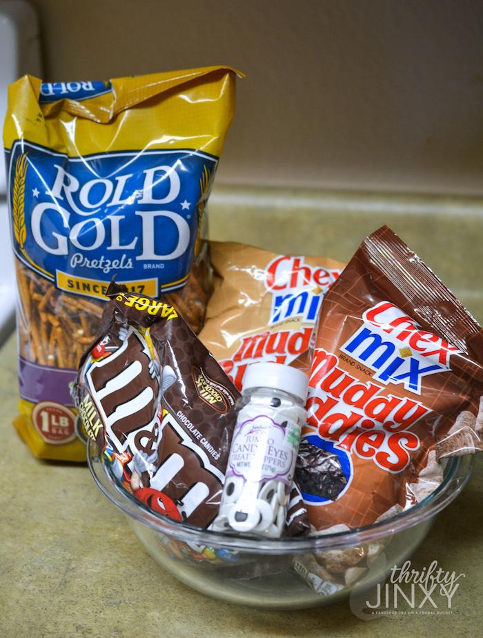 minion snack mix ingredients