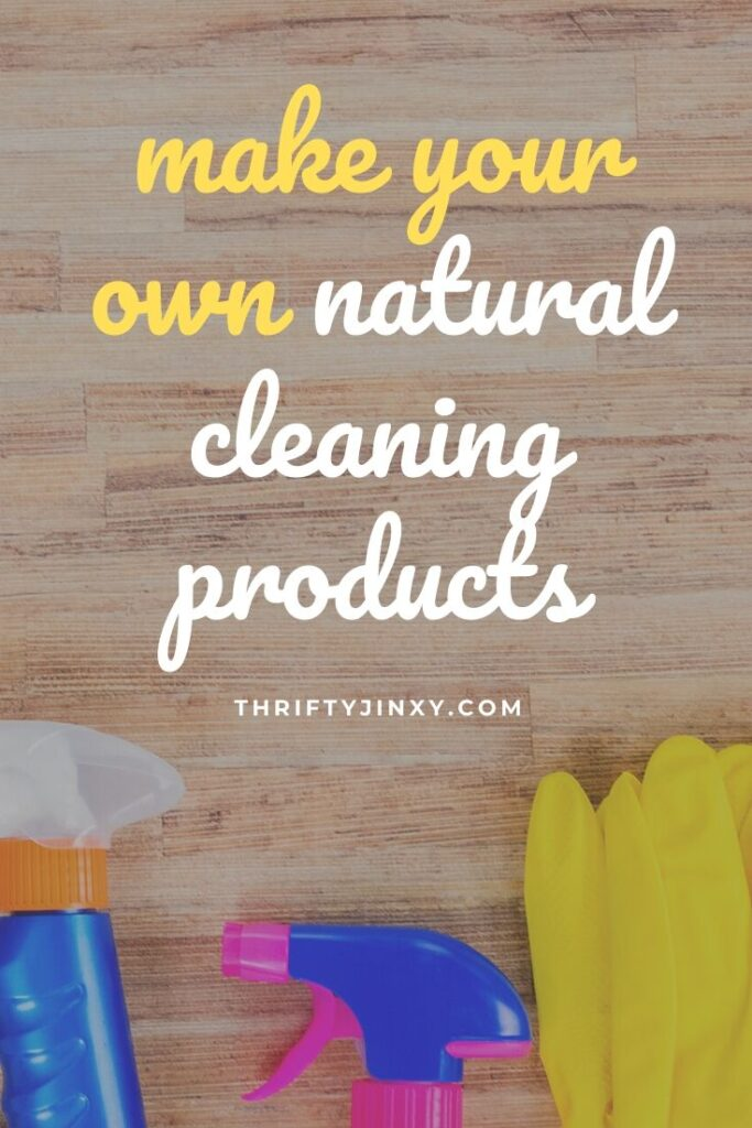 homemade natural cleaning products