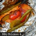BBQ Chicken and Veggie Packets Recipe