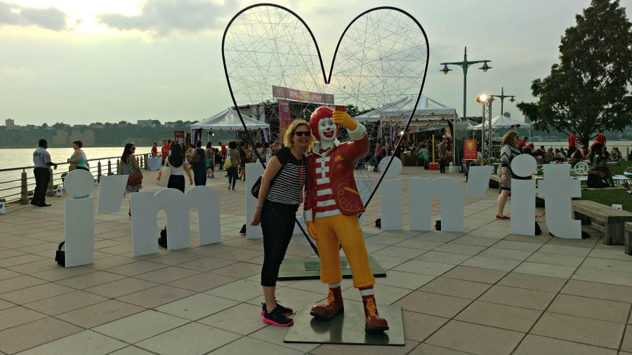 Taking on BlogHer and NYC with McDonald's