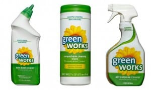 Green Works Products at Target Offer