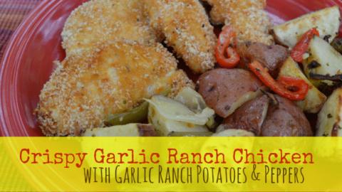 Crispy Garlic Ranch Chicken