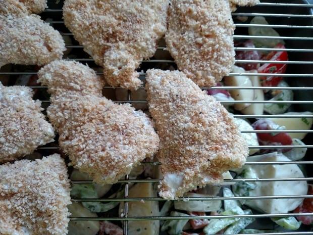 Crispy Garlic Ranch Chicken Recipe Cooking