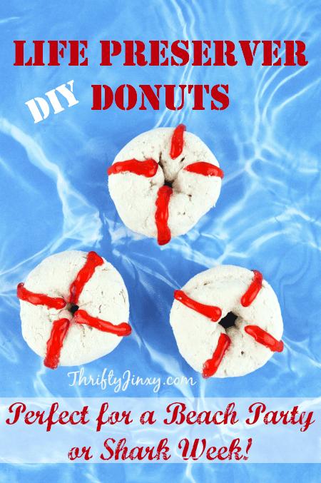 DIY Life Preserver Donuts