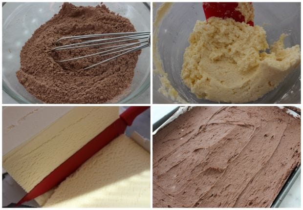 Homemade Ice Cream Sandwiches Recipe Process