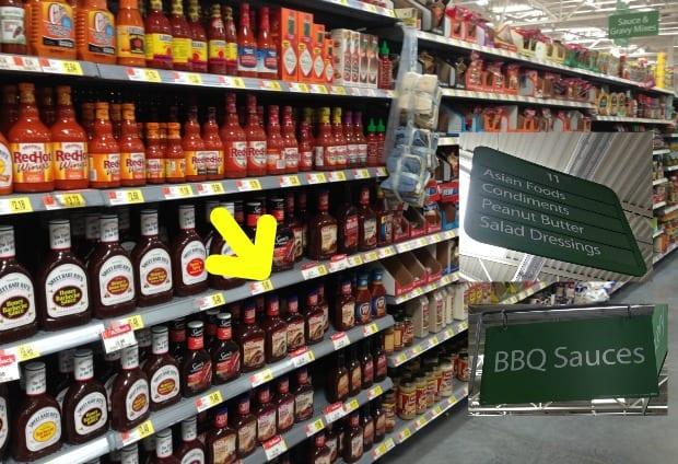 Kraft BBQ Walmart