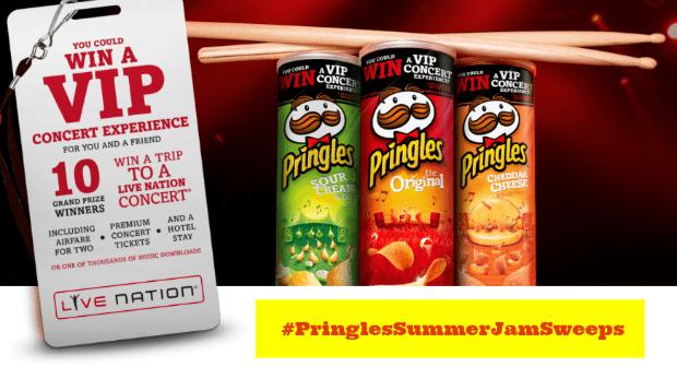 #PringlesSummerJamSweeps