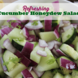 Cucumber Honeydew Salad Recipe
