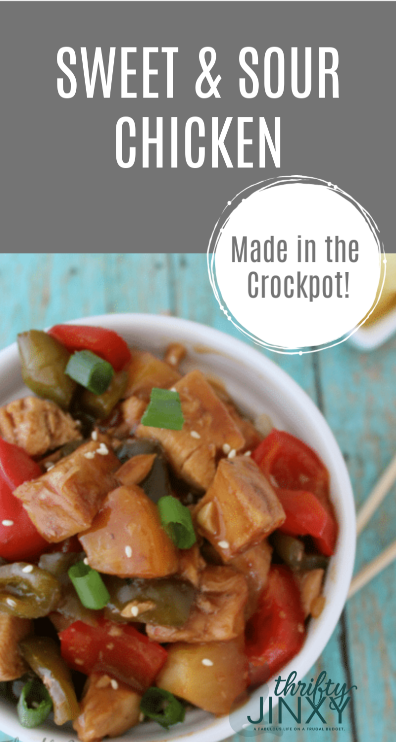 Crockpot Sweet and Sour Chicken Recipe