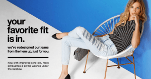 Target Jeans Try-On Event – Get $10 Off Jeans When You Try Them On