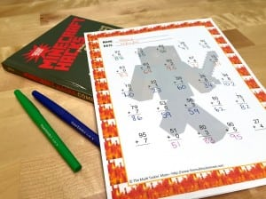 Free Printable Minecraft Math Worksheets