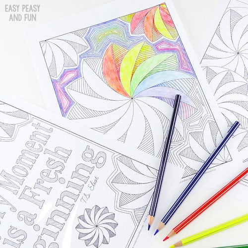 Coloring-Pages-for-Adults-Flower-Swirls