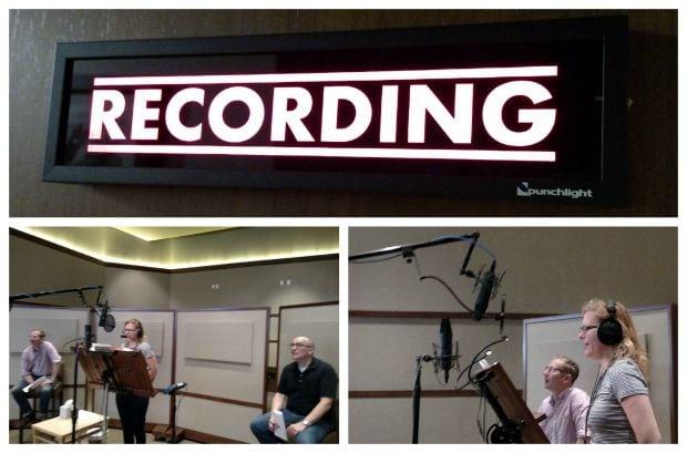 Dinotrux Voiceover: In the Recording Studio