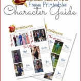 Disney's Descendants Printable Character Guide
