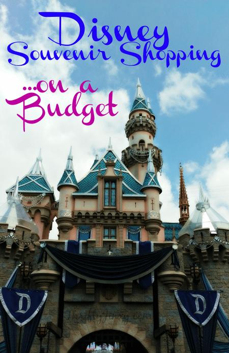 Disney Souvenir Shopping on a Budget