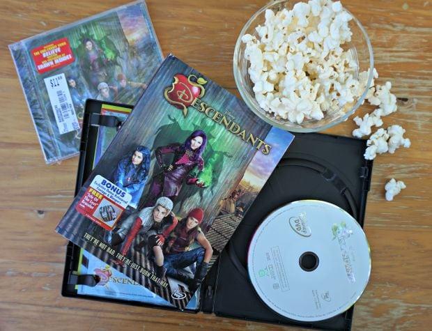 Disney's Descendants Soundtrack DVD