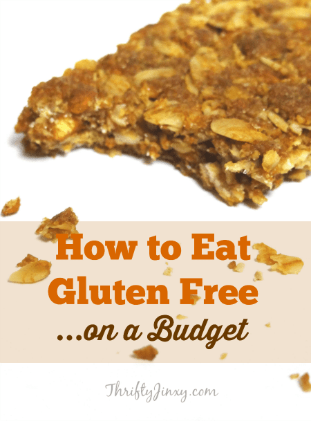 How to Eat Glugen Free on a Budget