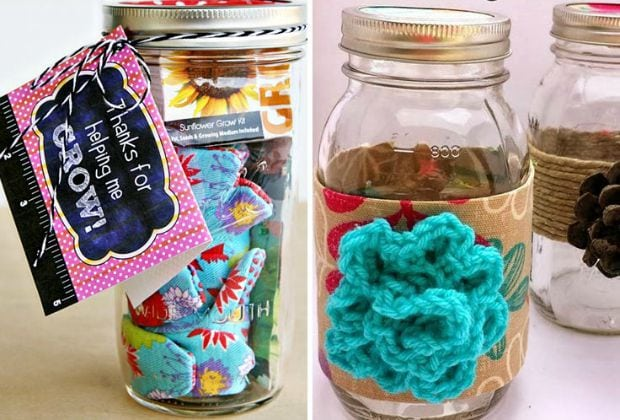 creative ways to reuse bottles jars and cans thrifty jinxy. Black Bedroom Furniture Sets. Home Design Ideas