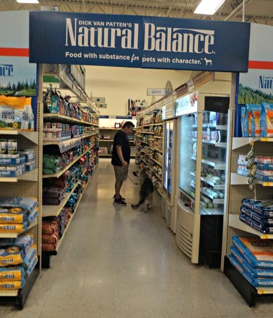 Natural Balance PetSmart Display