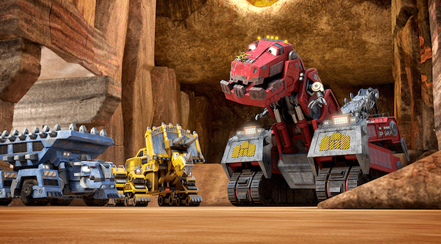 Dinotrux Netflix Original Series Coming Soon